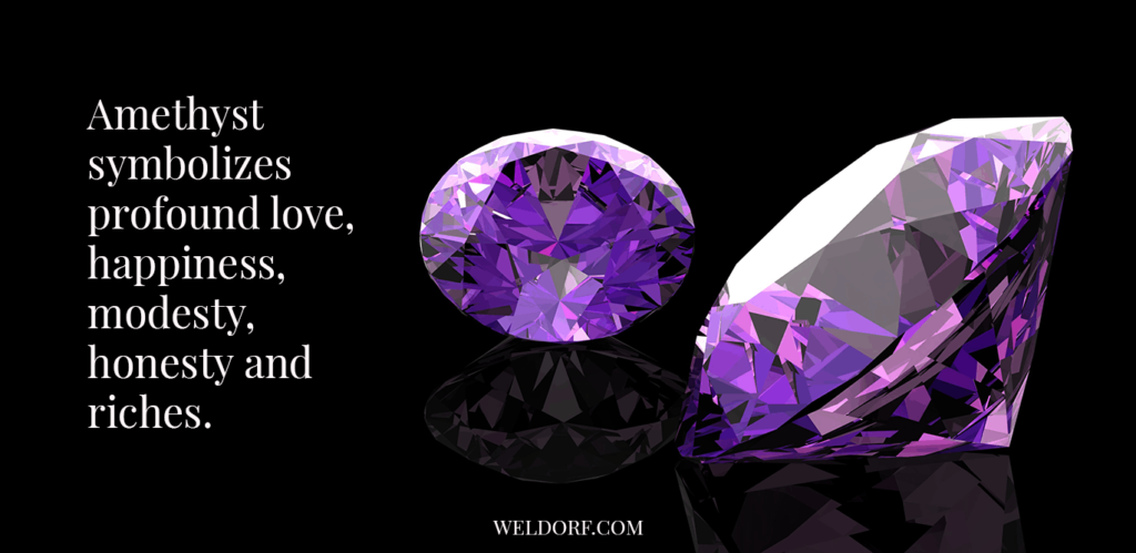 amethyst stone meaning have love effect
