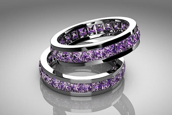 Amethyst stone has many benefits including jewelry rings