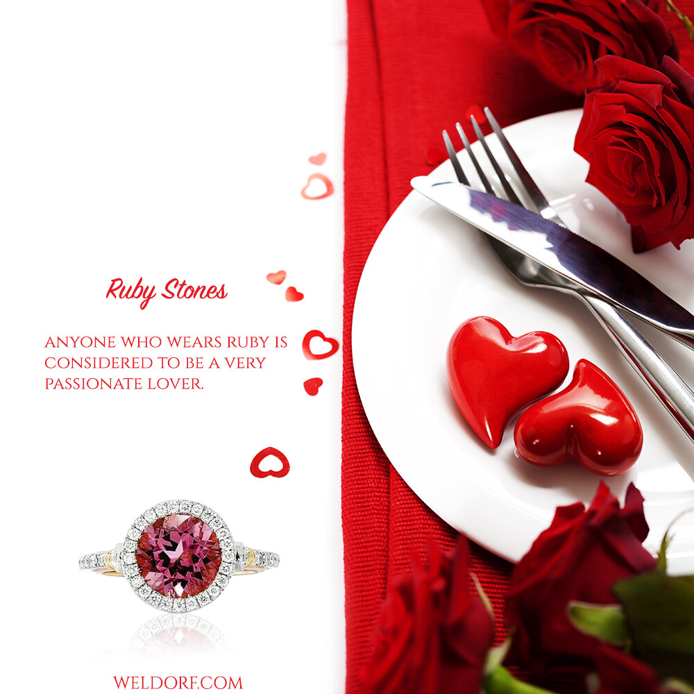 one of ruby stone benefits is to be a passionate lover